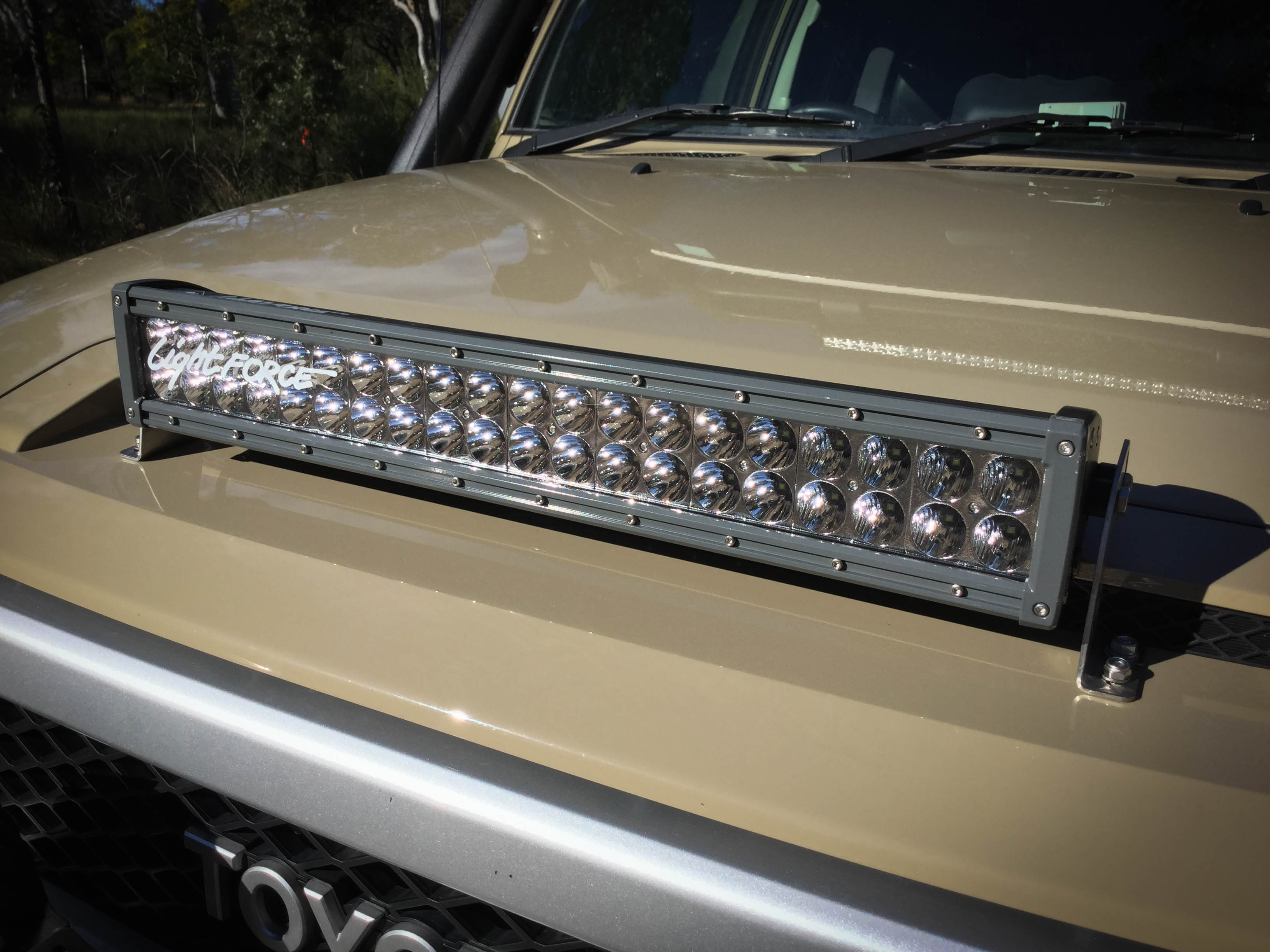 Lightforce gen2 led215 and dual row 20 inch light bar review lightforce 20 inch double row led light bar mozeypictures Image collections